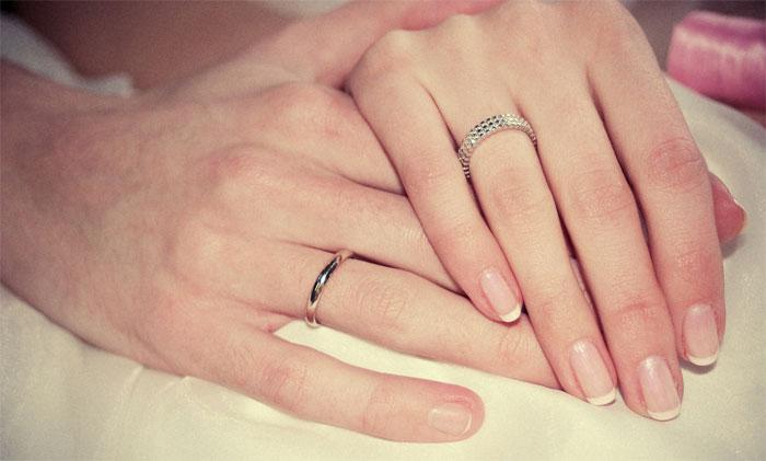 Свадебные кольца на седьмую годовщину свадьбы