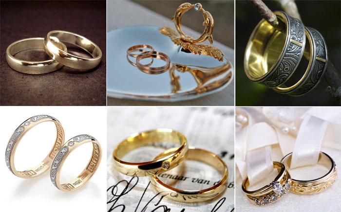 Обручальные кольца для венчания
