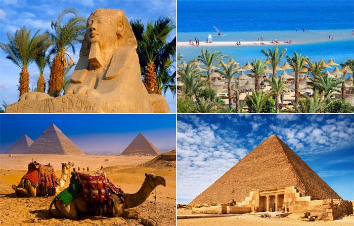 Медовый месяц среди египетских пирамид