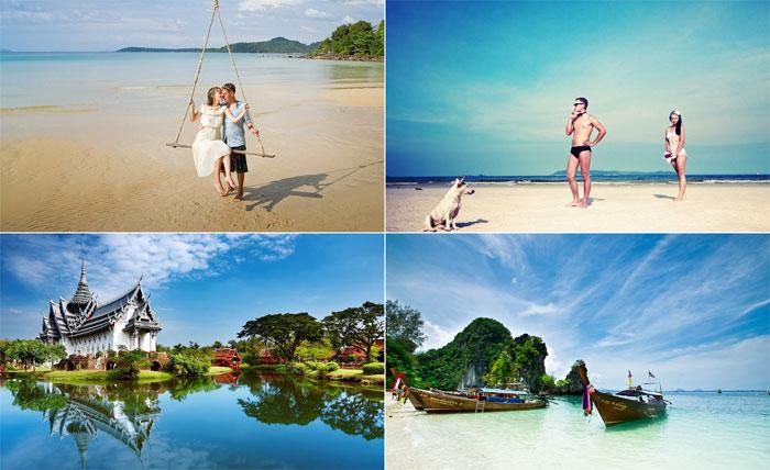 Пляжи Таиланда для новобрачных