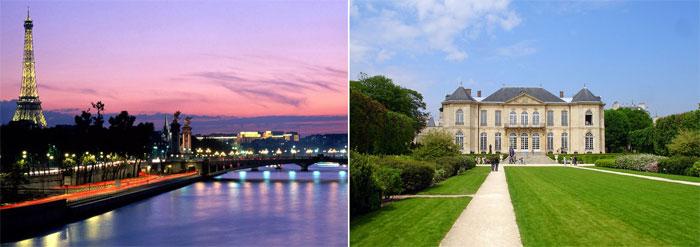 Париж – романтическое место влюбленных