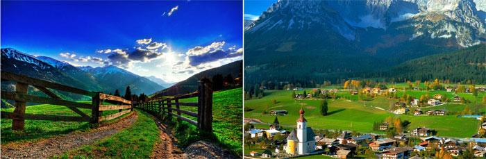 Австрийские приключения молодоженов