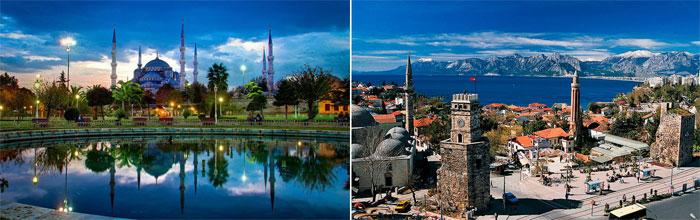 Турция для майского свадебного путешествия