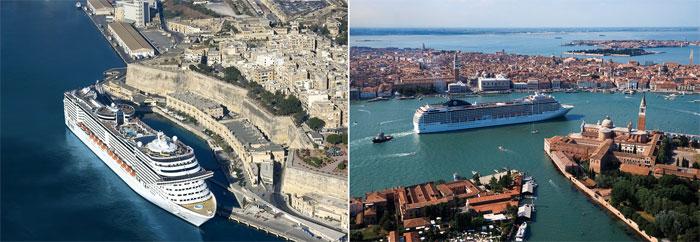 Средиземноморский круиз для новобрачных