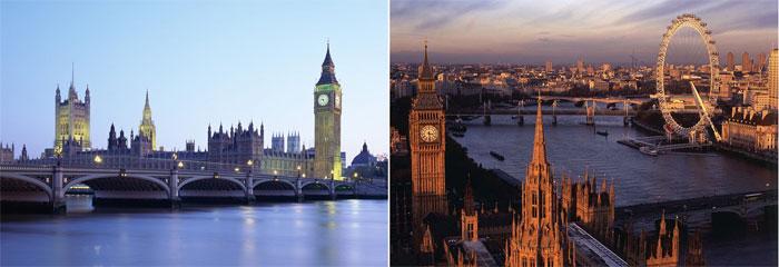Великобритания и Шотландия на медовый месяц