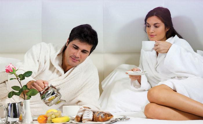 Завтрак для любимой на 23 года семейной жизни