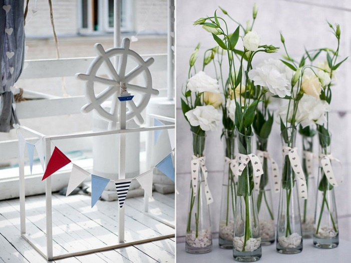 Фото: Примеры морских декораций