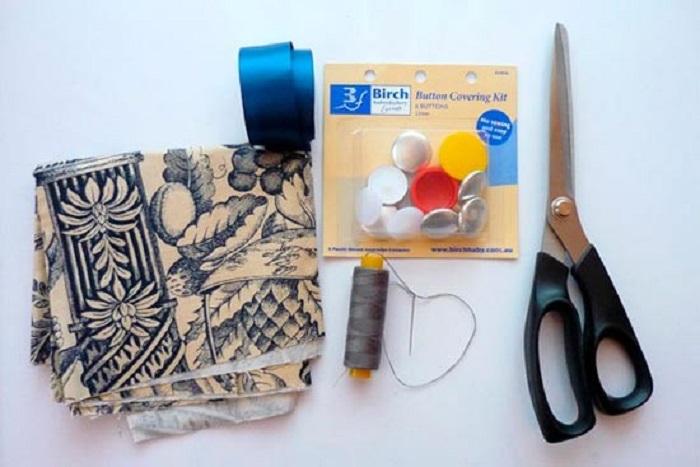 Требуемые материалы для бутоньерки