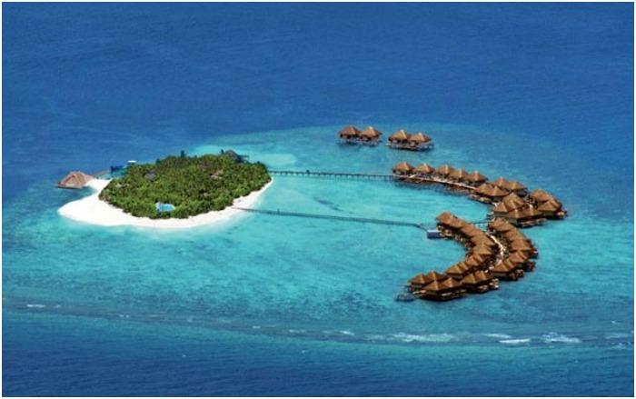 Мальдивский атолл Мале для свадебной поездки