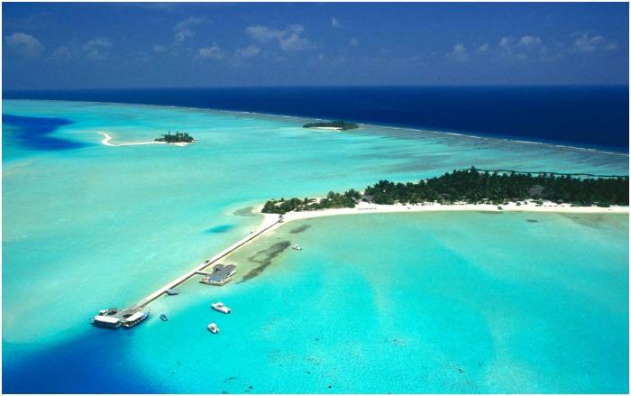 Мальдивский остров Рихивели для свадебной поездки