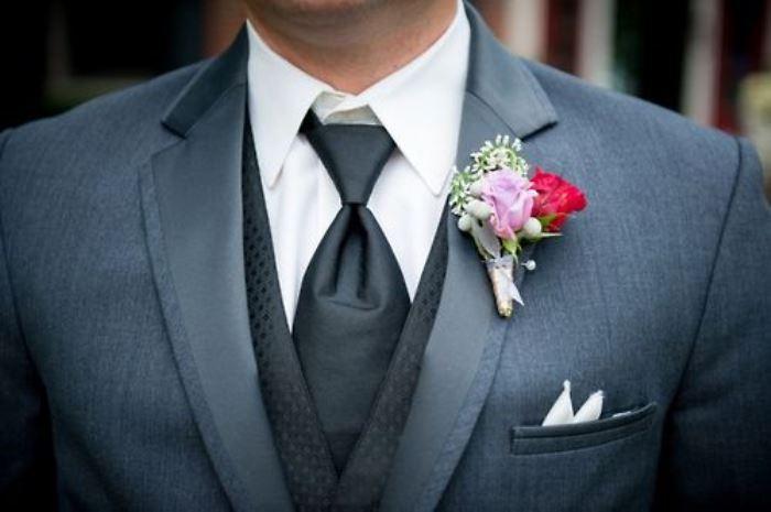 Роза для свадебной бутоньерки