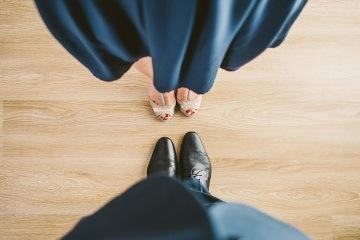 Репетиция свадебного вальса