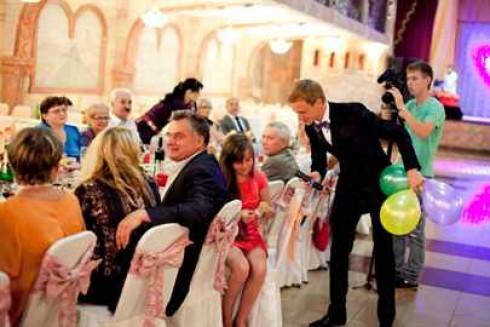 Ведущий на свадьбу, корпоратив, праздник, юбилей в Санкт-Петербурге