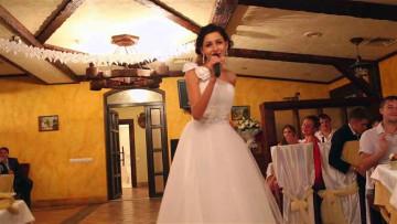Музыкальный подарок от невесты