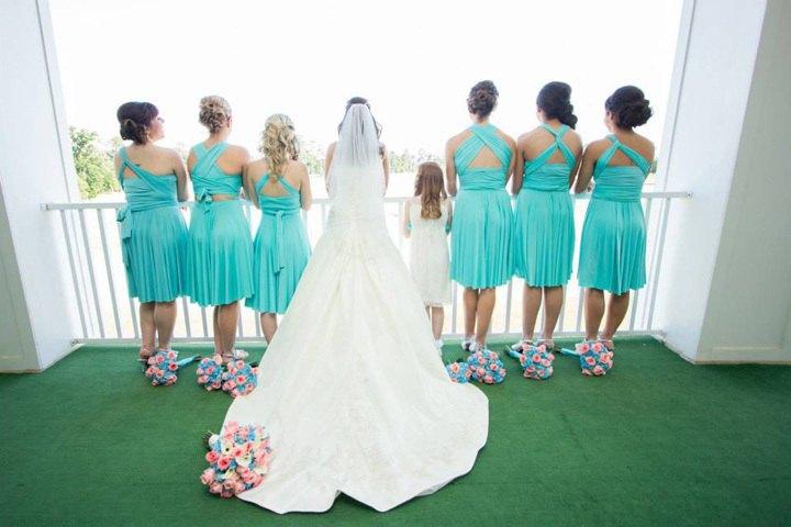 Образы подружек и невесты