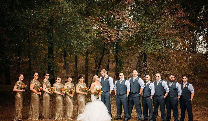 Образы подружек невесты и друзей жениха