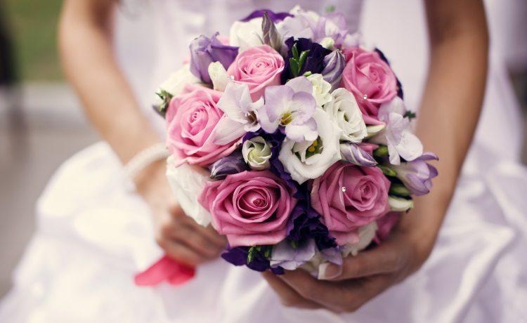 Сочетание розового и фиолетового цветов