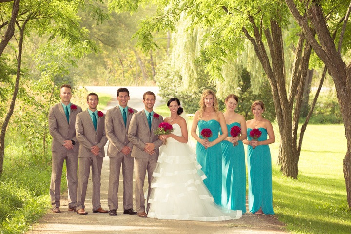 Образы жениха и его друзей